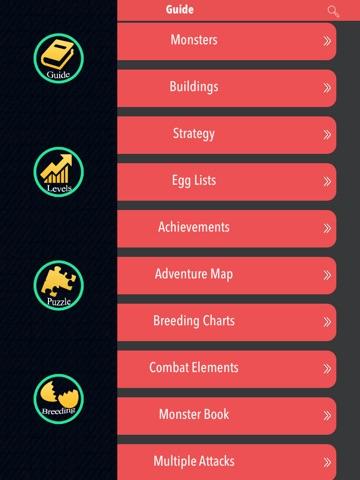 Télécharger The New Comprehensive Guide For Monster Legends 2015-  Unofficialpour iPhone / iPad sur l'App Store (Références)