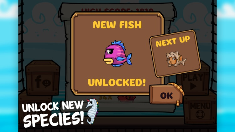 Fish Jump - Tap Tap Free Arcade Game screenshot-1
