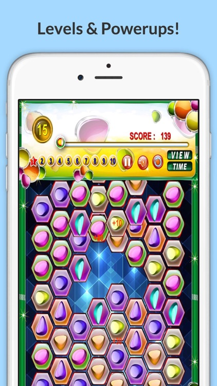 Gem Swap Drop! Pop The Mine Diamond Puzzle Dig-ger with Friends Deluxe 3 screenshot-3