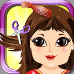 Baby Hair Saloon Makeover - cut, color, wash & create fun different hairstyles for princess free