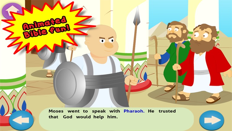 Moses and the Parting of the Red Sea: Bible Heroes - Teach Your Children with Stories, Songs, Puzzles and Coloring Games!