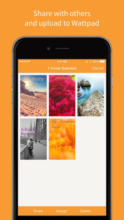 Covers by Wattpad - Photo Editor & Collage Maker for eBooks screenshot-4