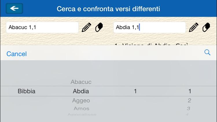 La Sacra Bibbia -(La Bibbia in italiano) screenshot-4