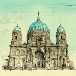 Берлин - большая прогулка. Аудиогид с альбомом фотографий маршрута и картой города