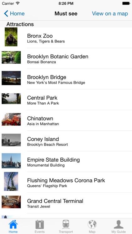 New York Travel Guide Offline screenshot-3