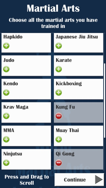 World Martial Arts Leaderboard