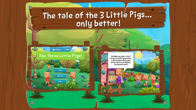 The Three Little Pigs - Search and find screenshot-0