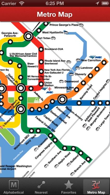 NextTrain DC Metro - AR screenshot-3