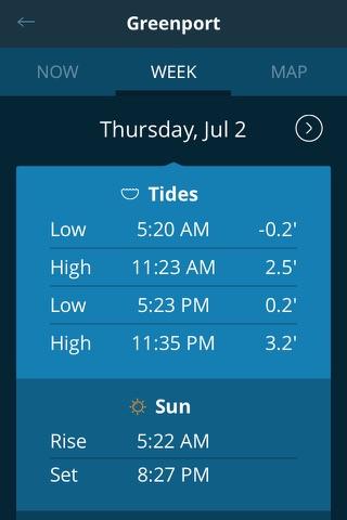 Tides Near Me - Free screenshot 3