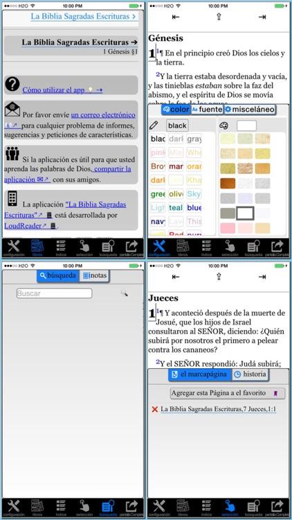 La Biblia Sagradas Escrituras (Spanish Bible)