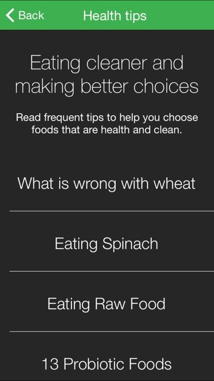 Eating Clean screenshot-3