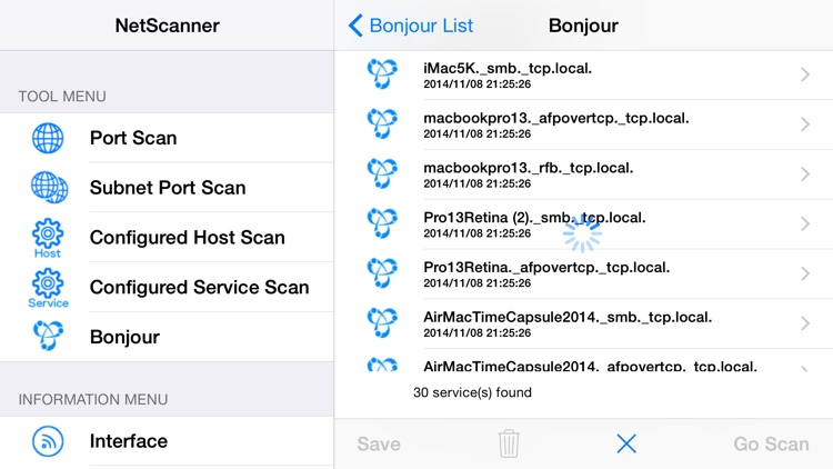 NetScanner for iOS screenshot-3