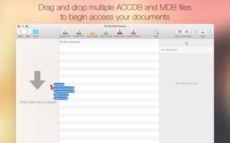 Accdb Mdb Explorer review screenshots