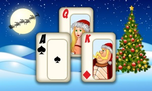 Christmas Solitaire Tri-Peaks