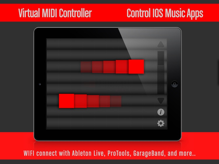 Fingertip MIDI HD - Virtual piano controller for PRO beat studio and music production. screenshot-0