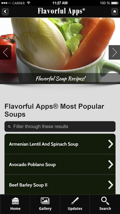 Soup Recipes from Flavorful Apps® screenshot-1