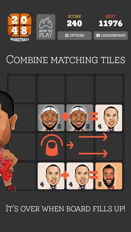 2048 Basketball screenshot-3
