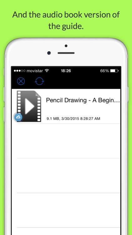 Pencil Drawing Beginner's Guide Free screenshot-3