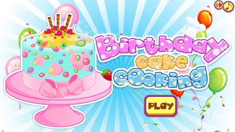 Birthday Cake Cooking Game By Lpra Studio