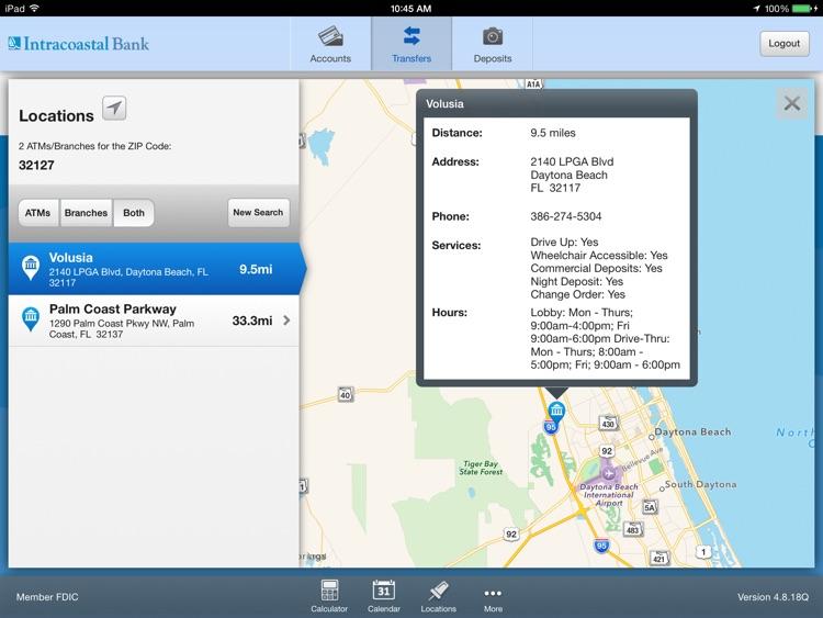 Intracoastal Bank for iPad screenshot-4