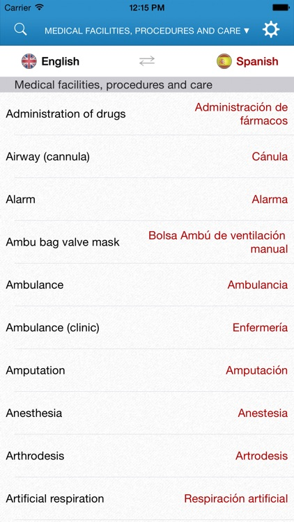 English-Spanish Medical Dictionary for Travelers