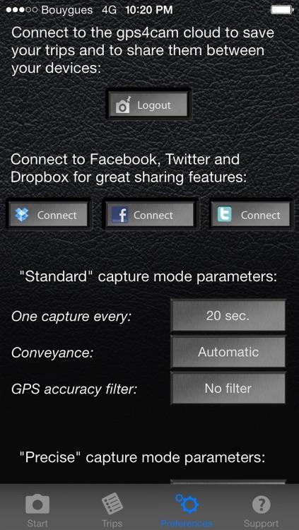 gps4cam Lite - Geotag Your Photos screenshot-3