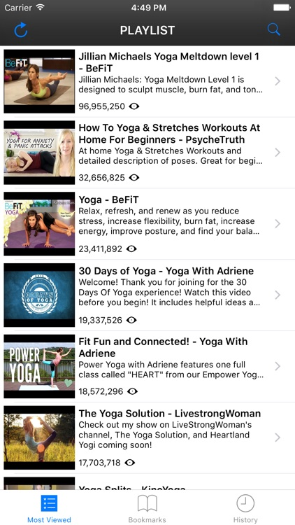 YogaTube - Include Yoga YouTube Videos of Yoga With Adriene