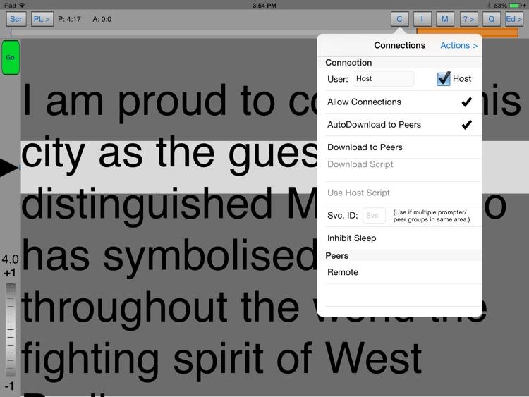 iQPrompter Studio screenshot-3