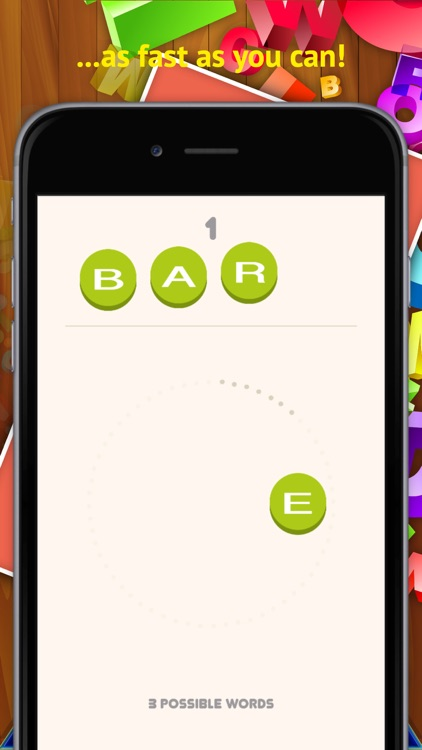 4 Letter Words Game Of Anagrams Screens 2