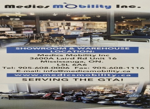 Medics Mobility Inc. - náhled