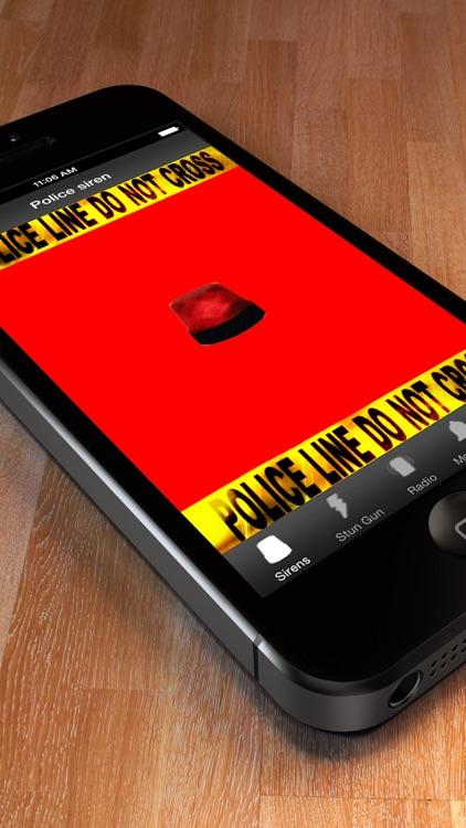 Police alarm - Motion Alarm, Sirens & Stun Gun Simulator