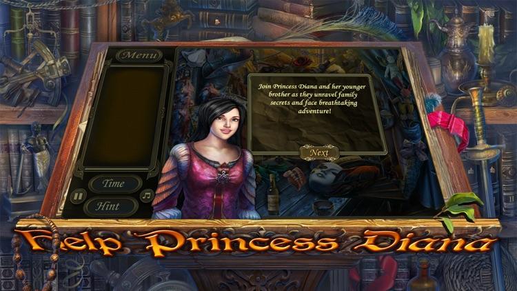 Hidden Object: Golden Trails - Secret of the Princess screenshot-3