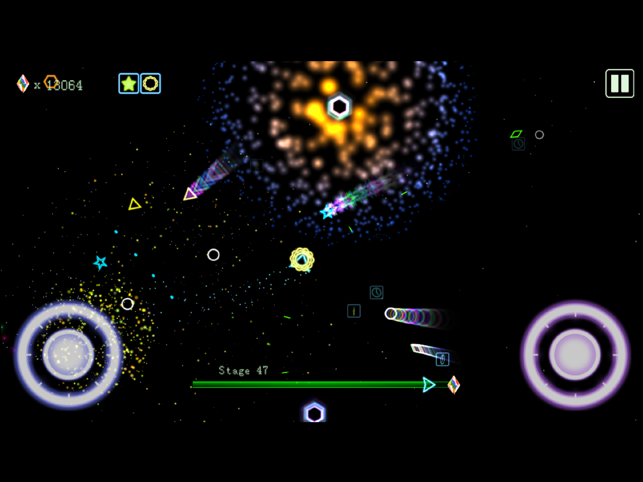 Barrage Space, game for IOS