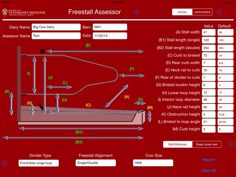 Freestall Assessor screenshot-2