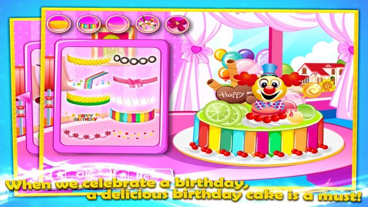 Birthday Cake Decorating screenshot-4