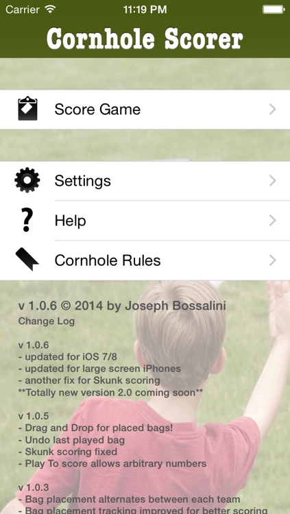 Cornhole Scorer screenshot-3