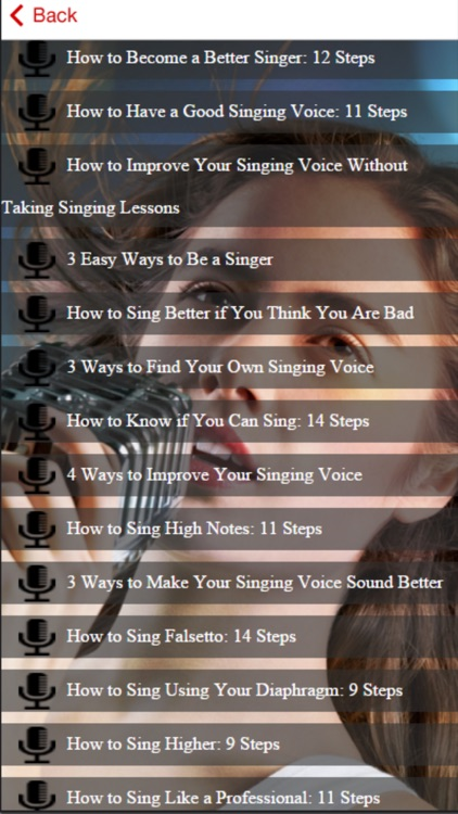 Singing Course - How to Improve Your Singing Voice