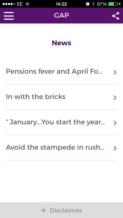 Alan Steel Asset Management Pension Gap screenshot-3