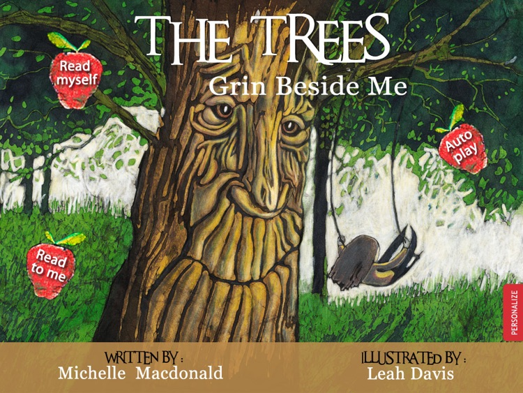 The Trees Grin Beside Me