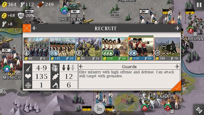 European War 4: Napoleon Screenshot