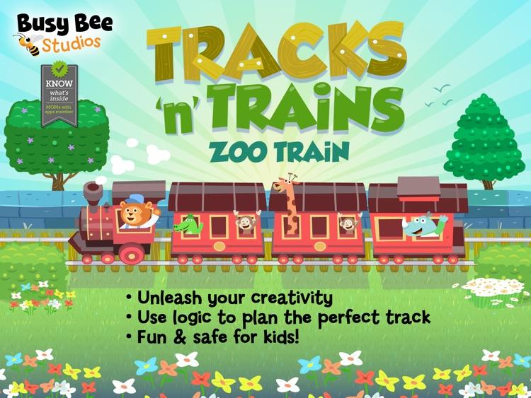 Zoo Train: Tracks 'n' Trains screenshot-0