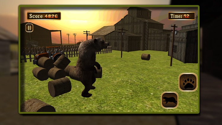 3D Bear Simulator – wild adventure simulation game screenshot-3