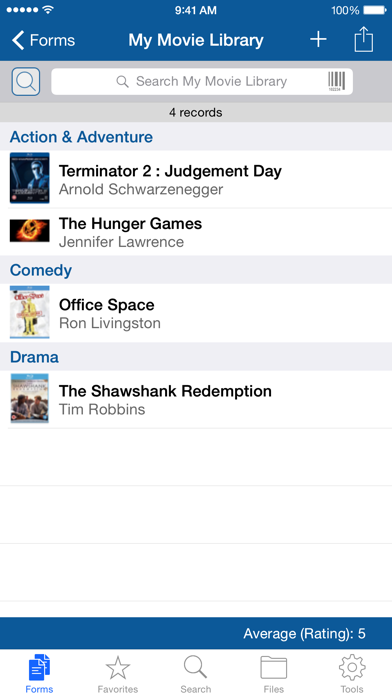 Tap Forms OrganizerScreenshot von 3