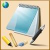ノート、書き込みメモを取る、描く、スケッチにする - 行またはグリッドを - 手書きまたはキーボード - 無料