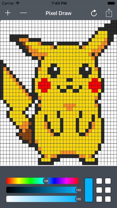 Pixel Art Drawingのおすすめ画像1