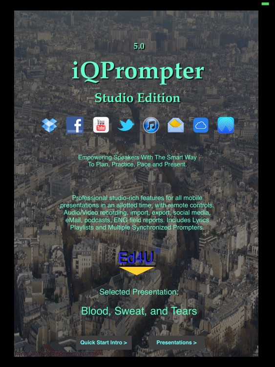 iQPrompter Studio