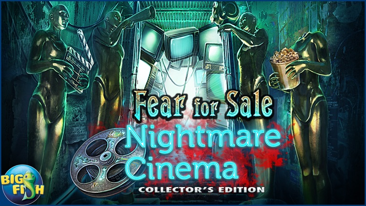 Fear For Sale: Nightmare Cinema - A Mystery Hidden Object Game screenshot-3