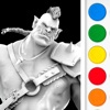 Figuromo Artist : Orc Rage - Fantasy Battle Figure - Color Combine & Design your 3D Sculpture