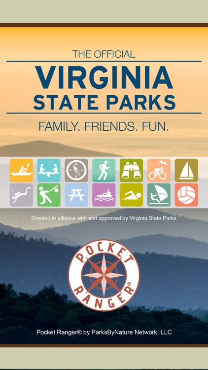 Virginia State Parks Guide- Pocket Ranger®