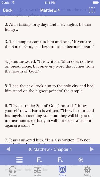 NIV Bible (Audio & Book) screenshot-3